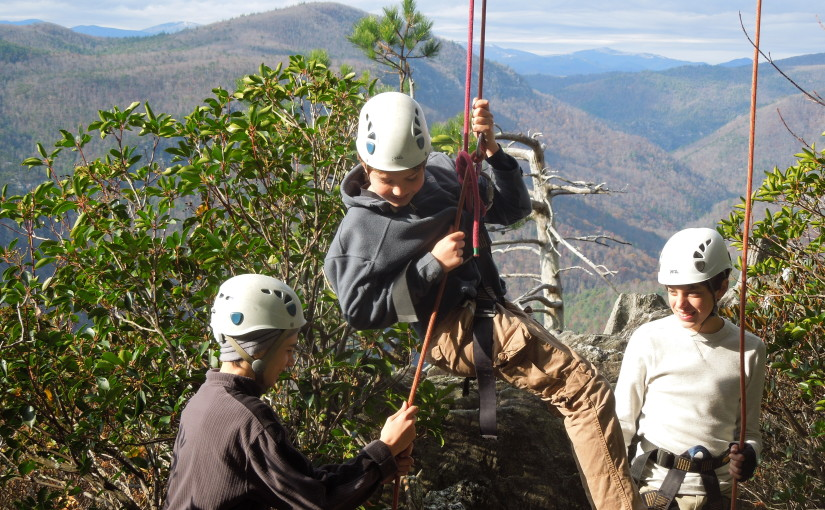 Linville Gorge Rock Climbing 2012