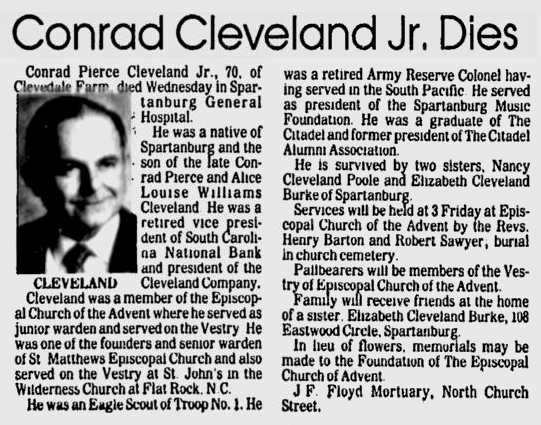 Spartanburg Herald-Journal, 17 January 1985, page 9A