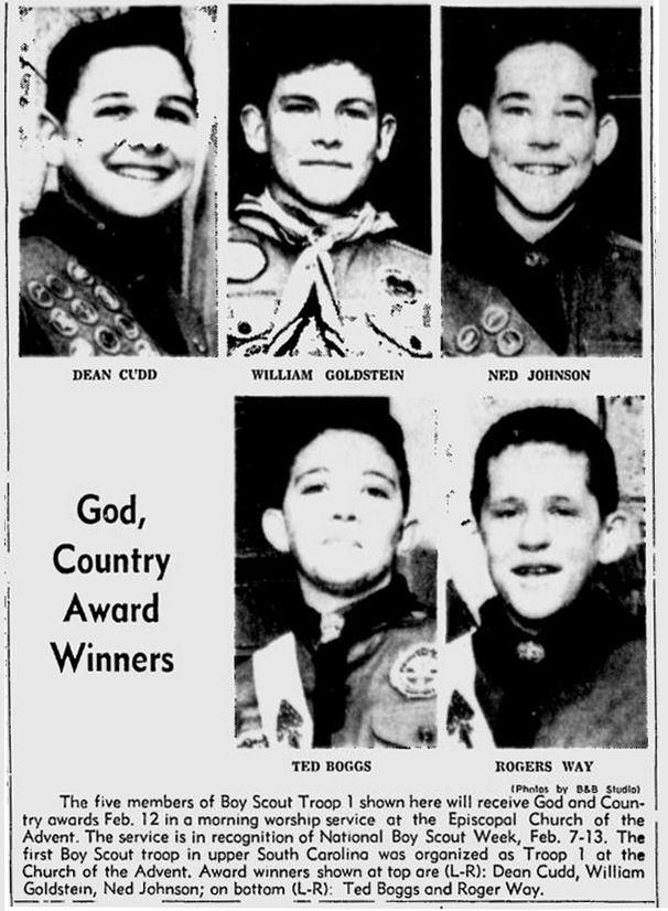 Spartanburg Herald, 5 February 1961, page 10