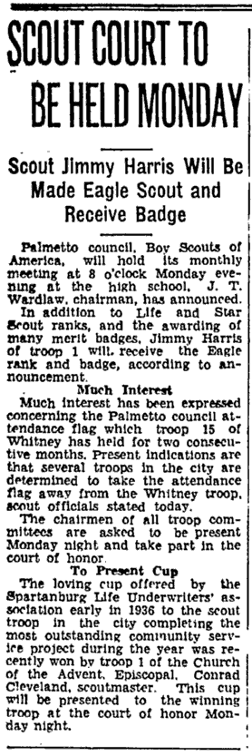 Spartanburg Herald, 26 May 1937, page 12