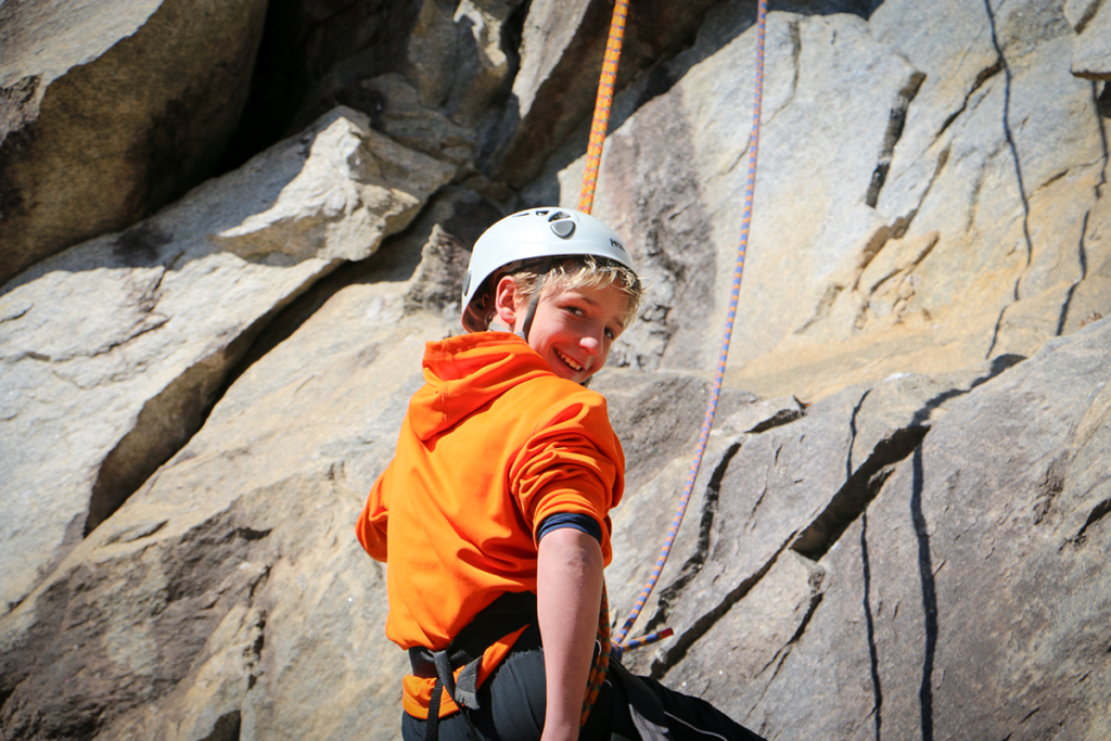 Rock Climbing and Rappelling 2014