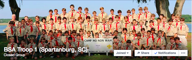 Troop 1 Facebook Page